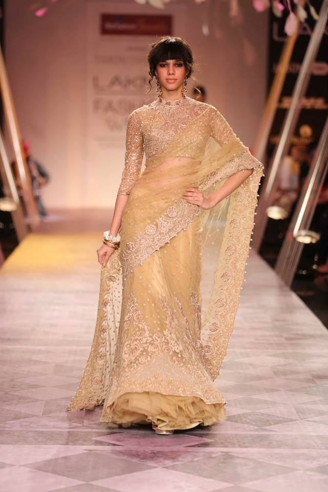 Lehenga Style Saree by Tarun Tahiliani