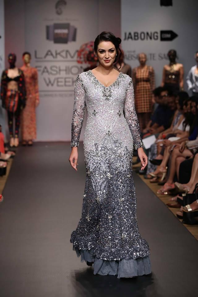 Maryam Zakaria in designer lehenga