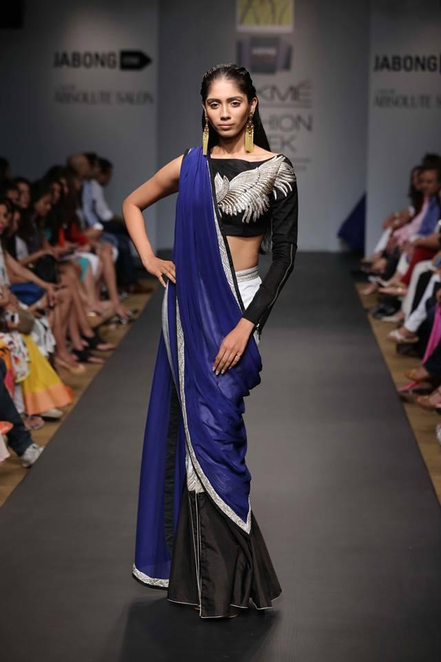Ritika Mirchandani half saree