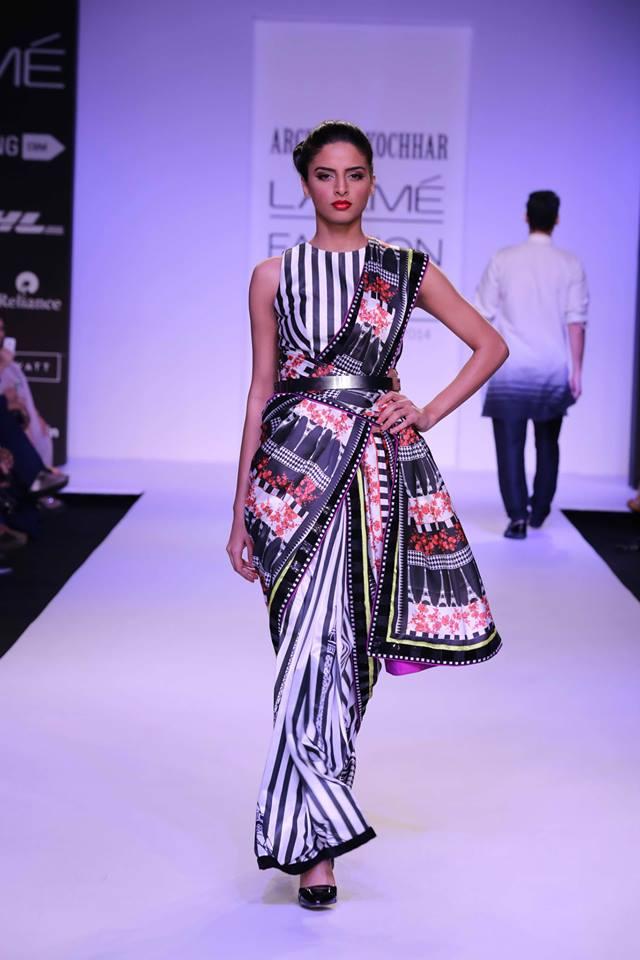 Amrita thakur lakme fashion week 9