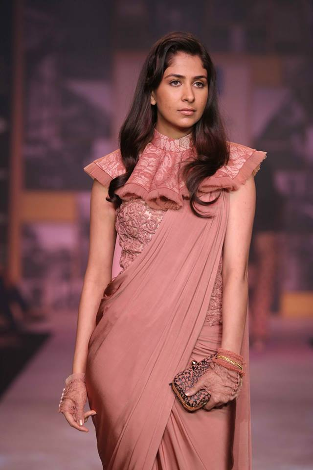 shantanu and nikhil saree blouse