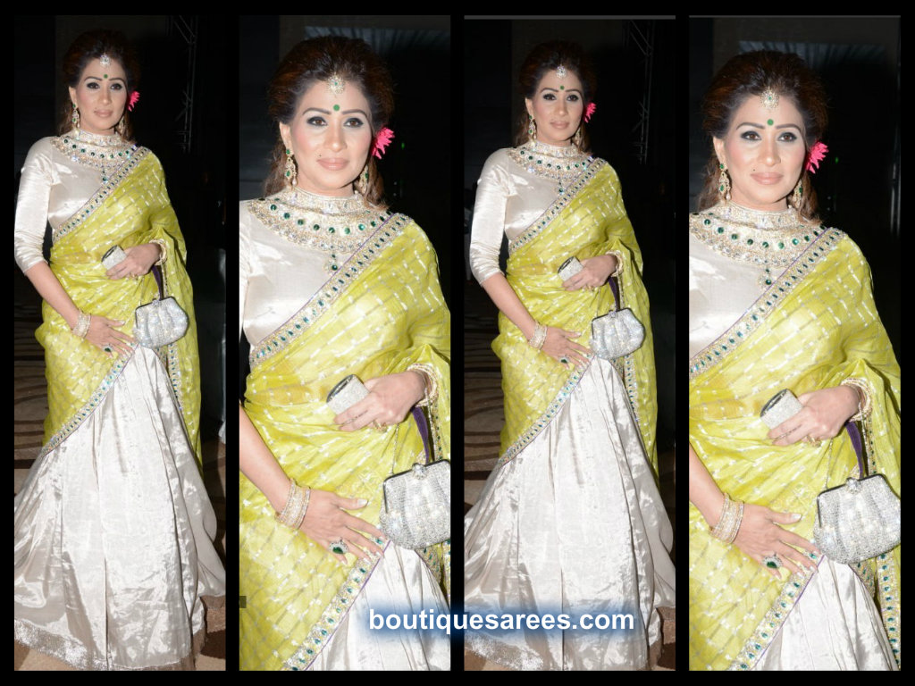 sheerdevi choudary in half saree