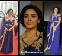 Priya Anand in Lavender Floor Length Anarkali
