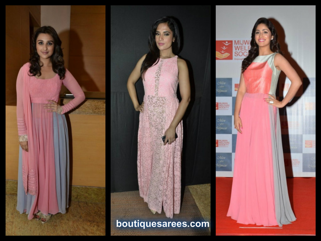 Richa Chadda, Yami Gautam And Parineeti Chopra