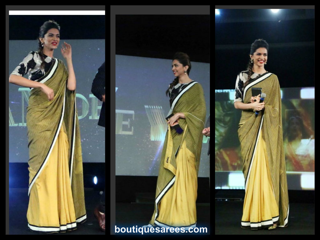 deepika in dev r nill saree