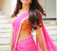 shanvi in traditional half saree stills