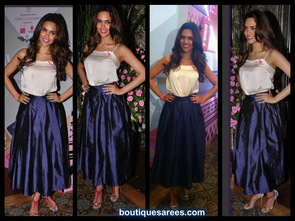 Esha Gupta At Elle Carnival