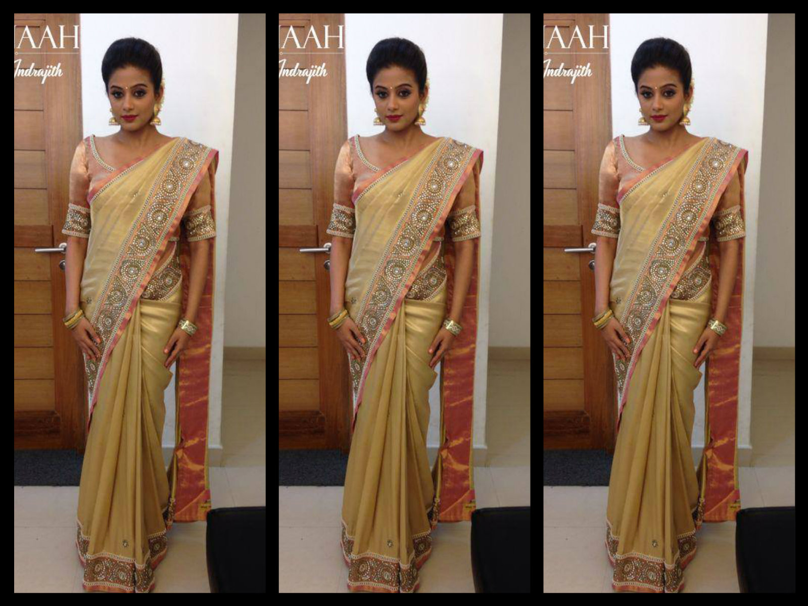 priyamani in saree