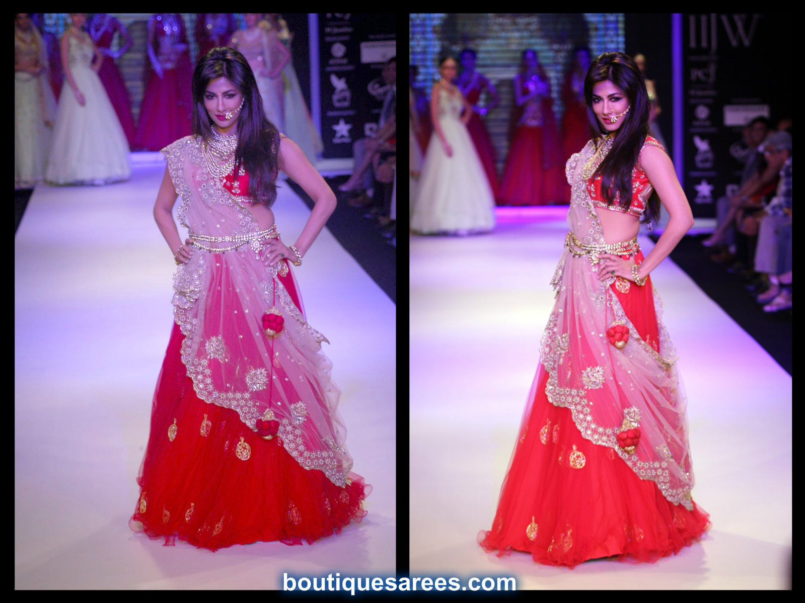 Chitrangda Singh Walks for Moni Agarwal at IIJW 2014