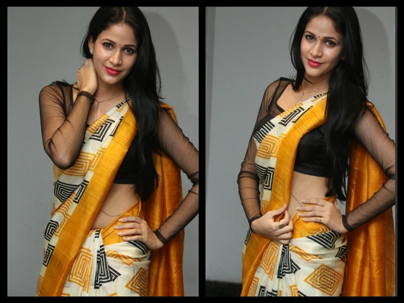 Lavanya Tripathi in Printed Sari