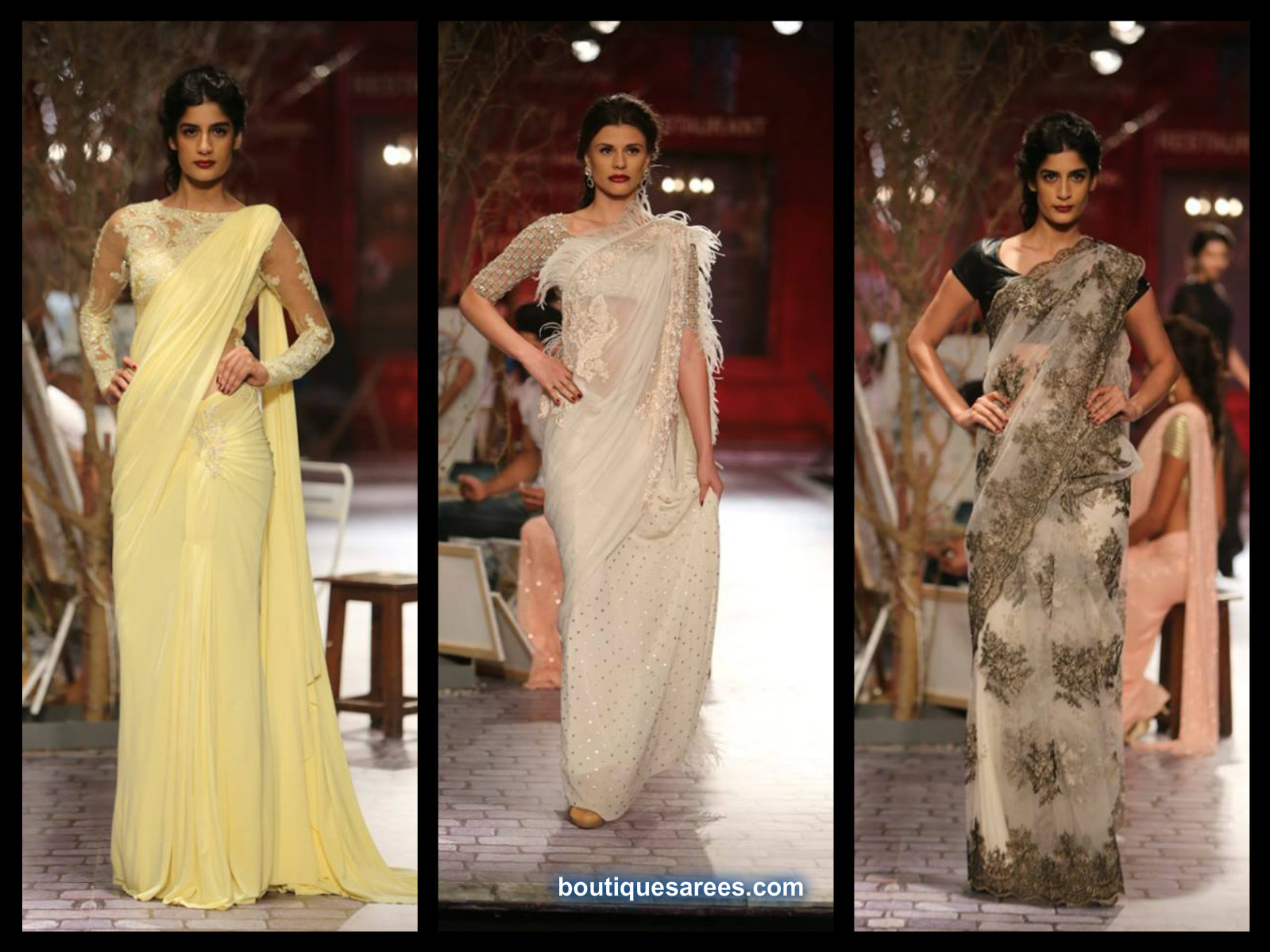 Monisha Jaisingh saree 2014