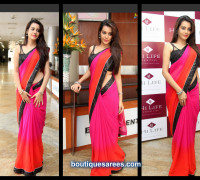 deeksha panth in plain saree
