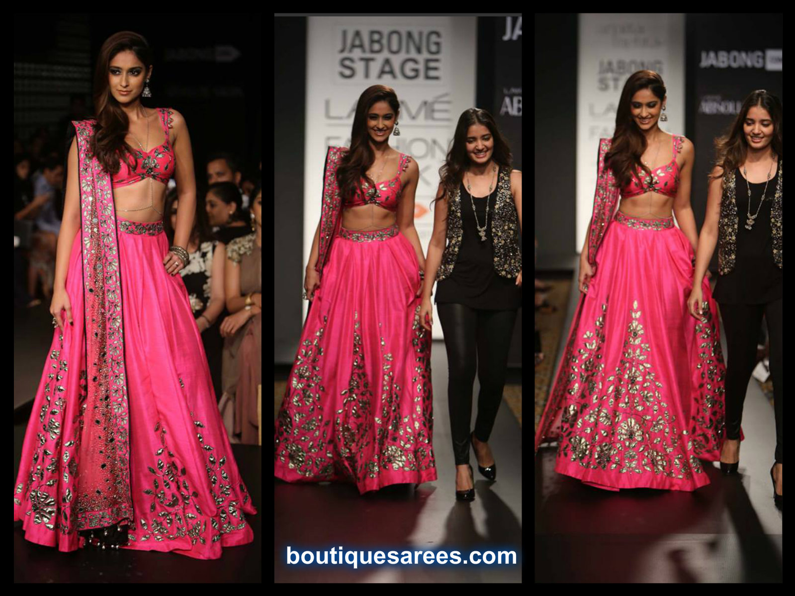 Ileana Walks for Arpita Mehta