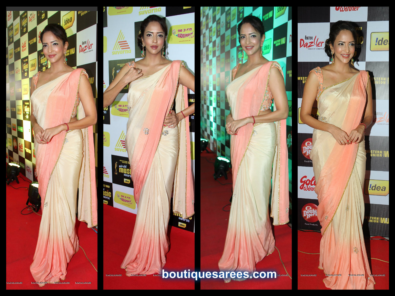 MANCHU LAKSHMI IN SAREE