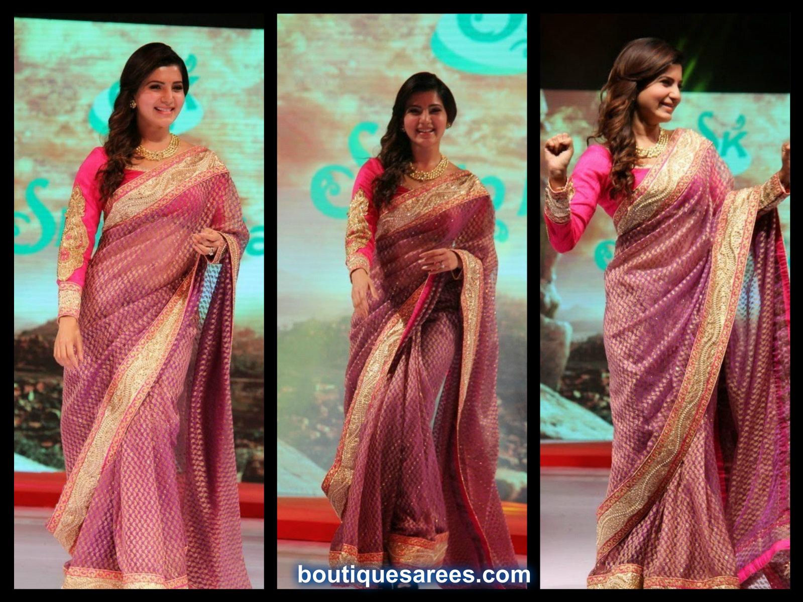 Samantha in Shilpakala Saree