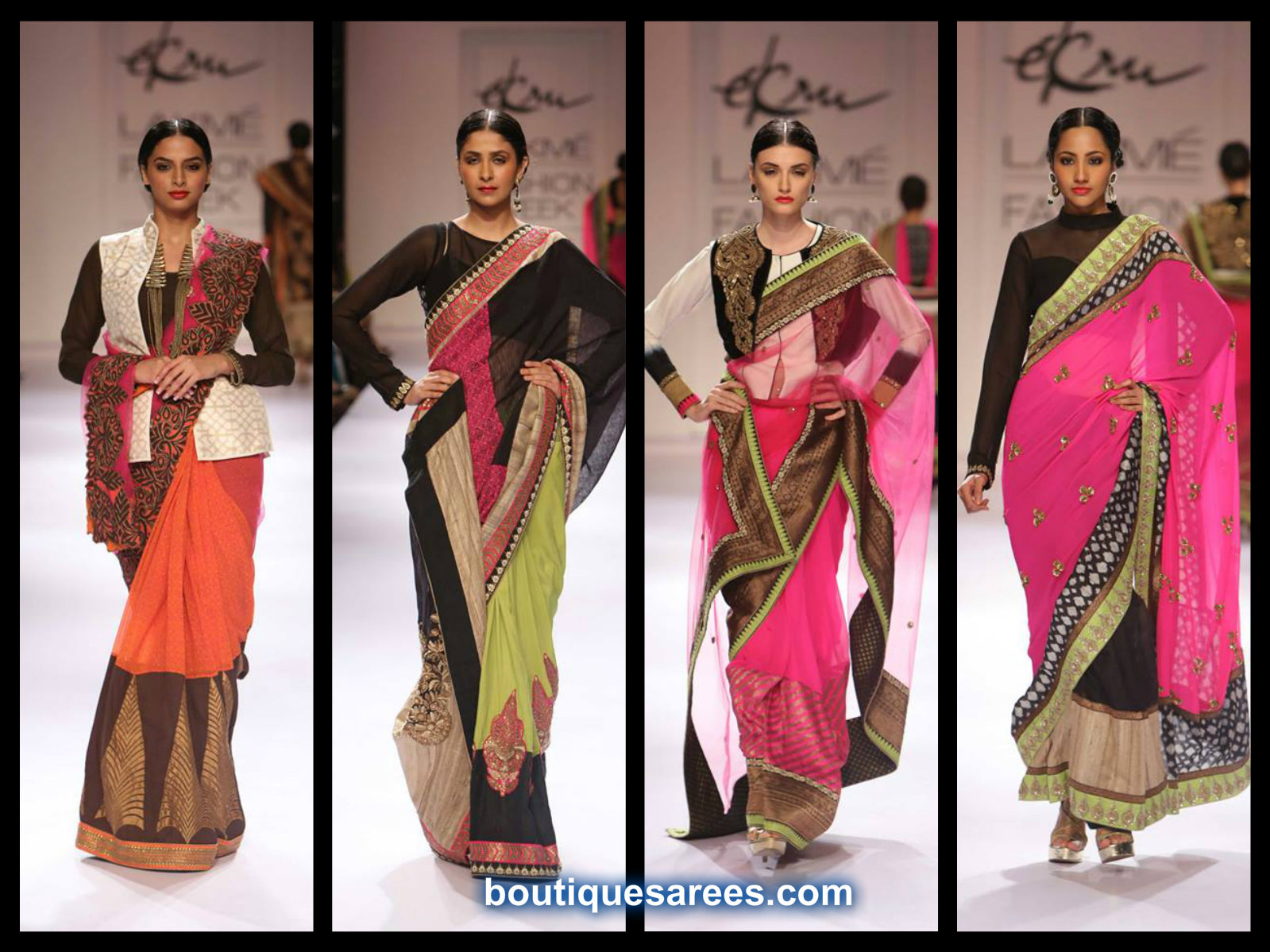 ekru saree collection