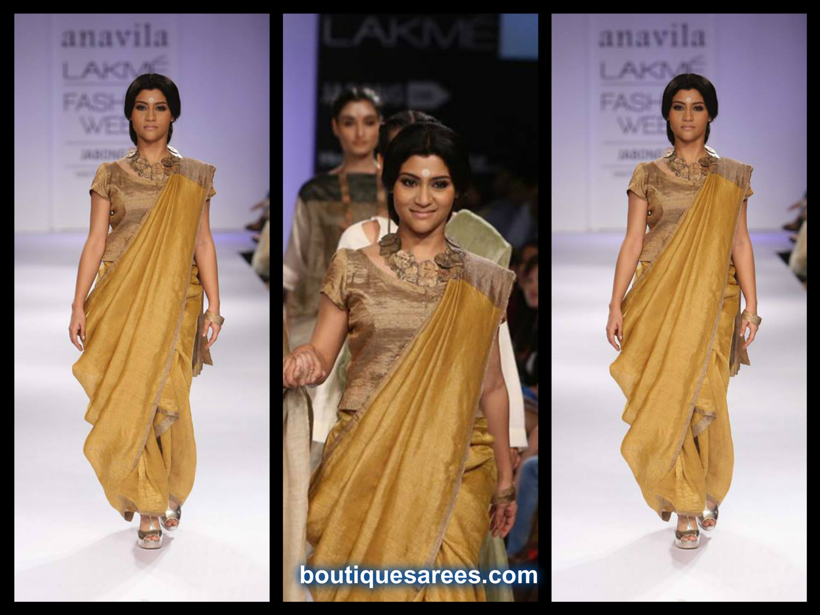konkana sen sharma in anavila saree