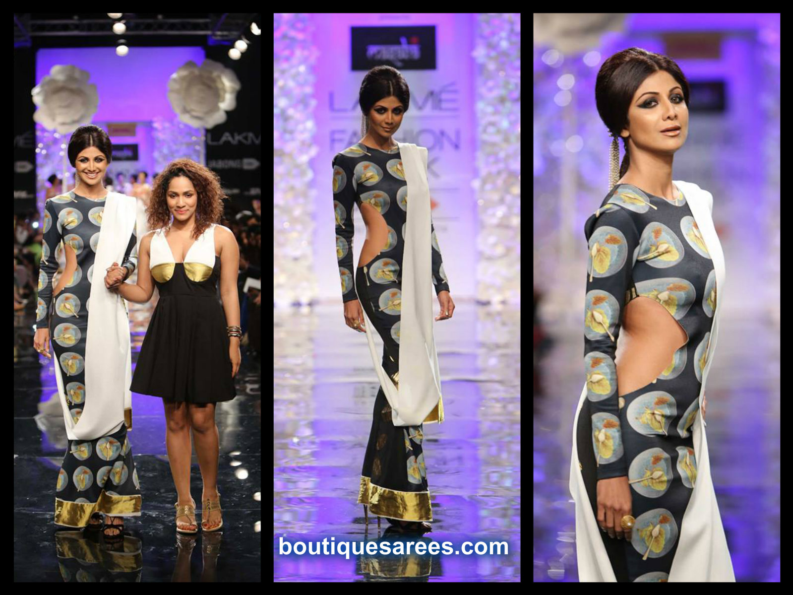 shilpa shetty in masaba gupta saree