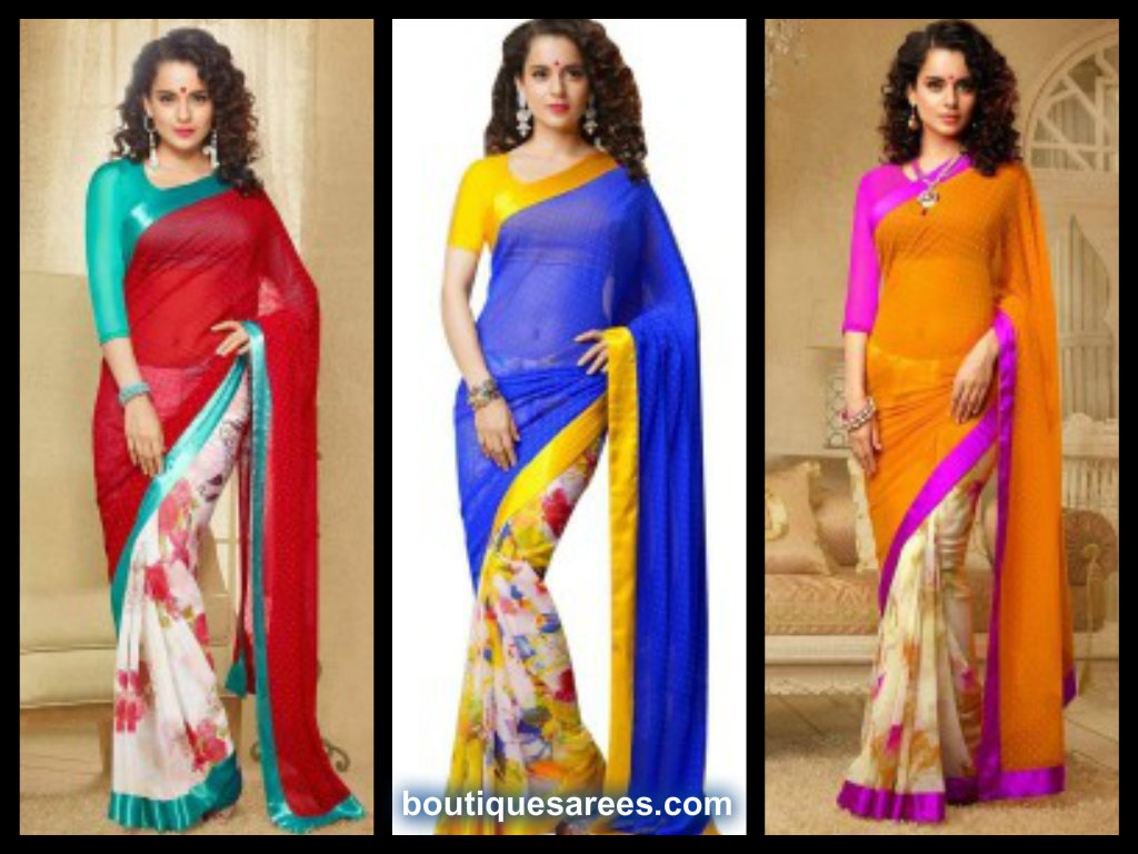 Kangana Ranaut Latest Saree Photo-shoot