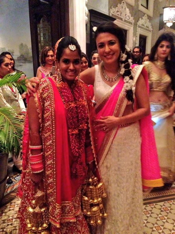 arpita khan in bridal lehenga