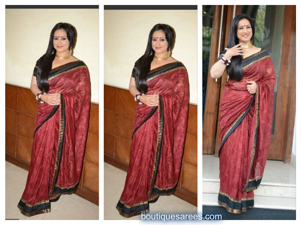 divya dutta in saree