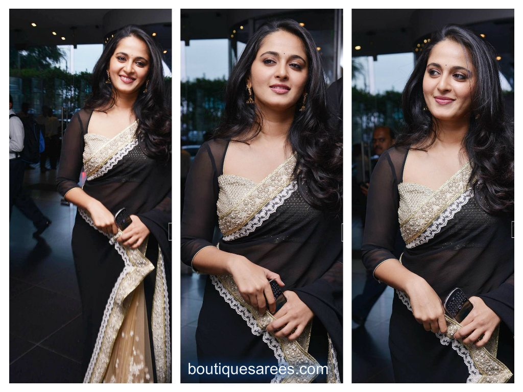 anushka in sabyasachi saree