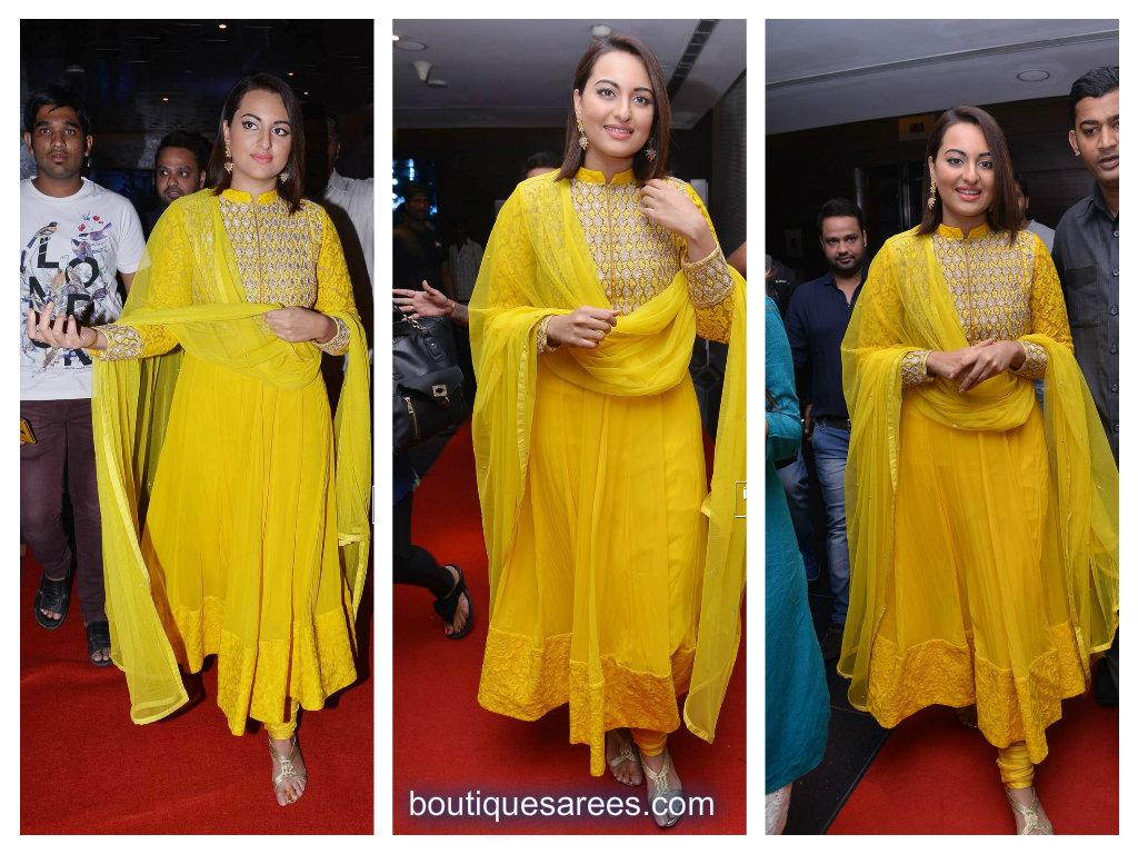 Sonakshi Beautiful sinha salwar kameez dresses