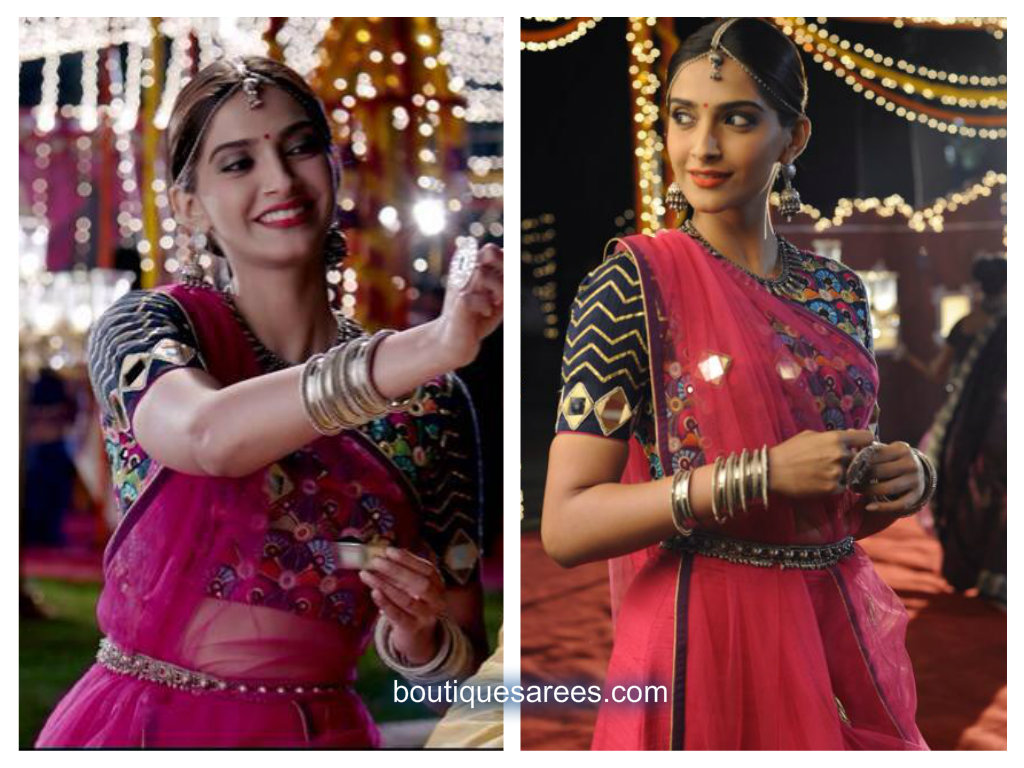Sonam Kapoor in Mayyur R Girotra Couture