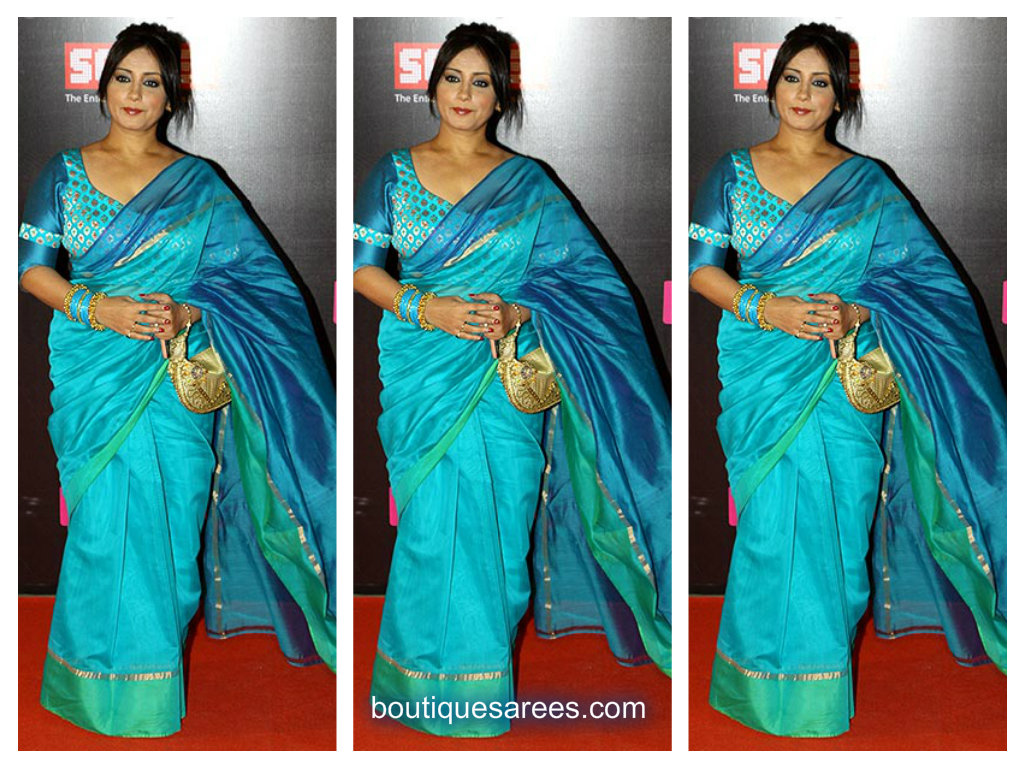 divya duptta in traditional saree