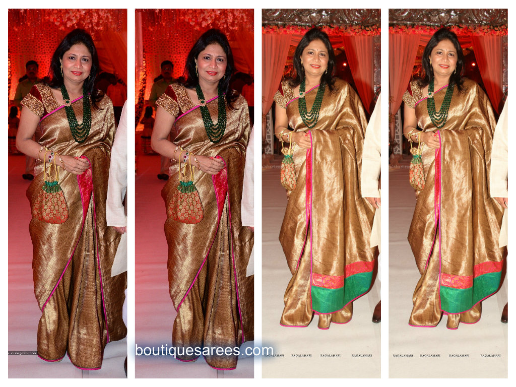 padmaja reddy in silk saree