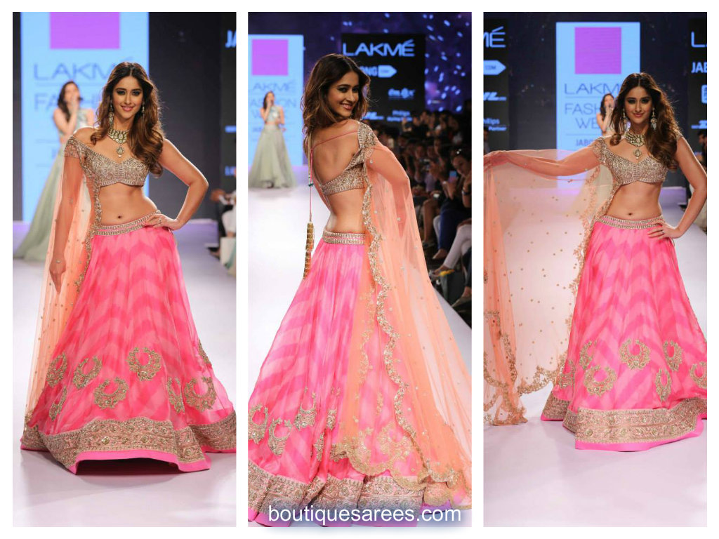 ileana d'cruz in anushree reddy lehenga