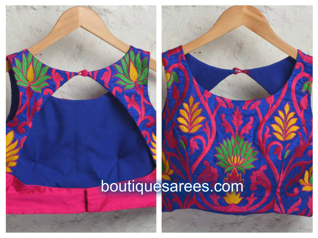 Blouse Front Neck Design Images 50