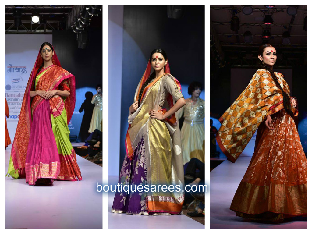 Bangalore Fashion Week 2015 Gaurang Shah Boutiquesarees Com