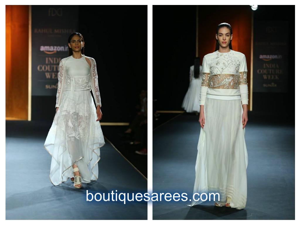 white dress rahuls