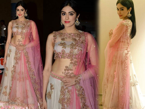 Adah-Sharma in anushree reddy