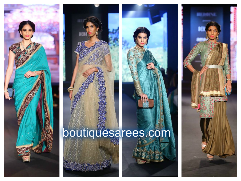debarun saree blouse fashion