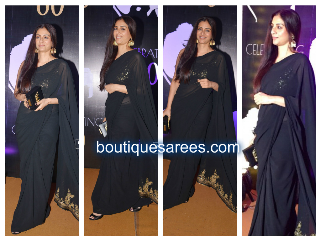 tabu in sabysachi saree