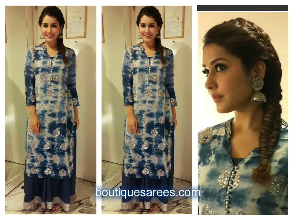 raashi in long kurti