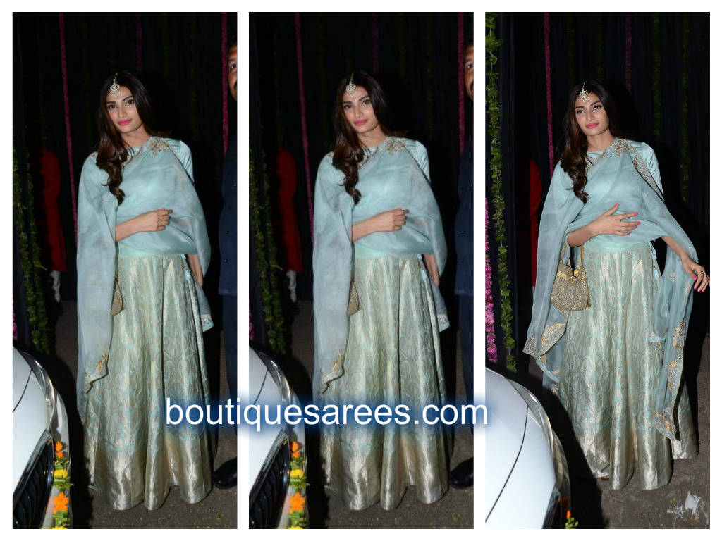athiya shetty in raw mango