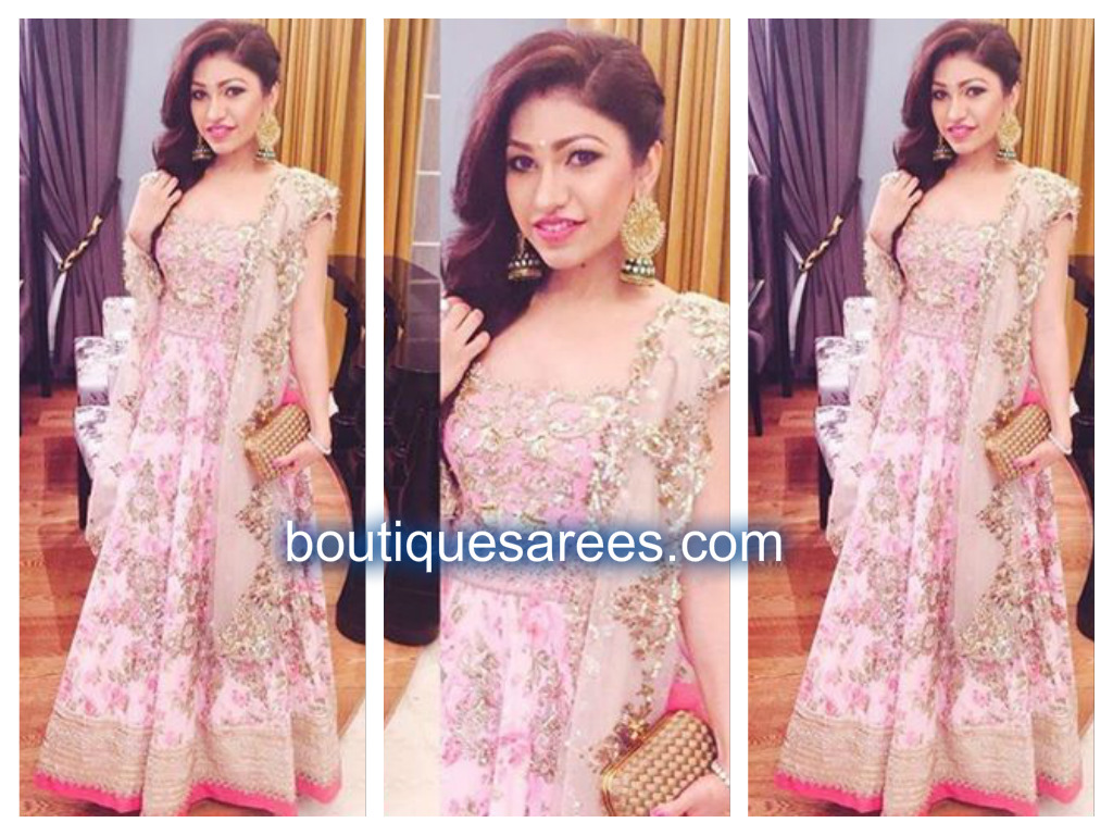 tulsi kumar in anushree reddy