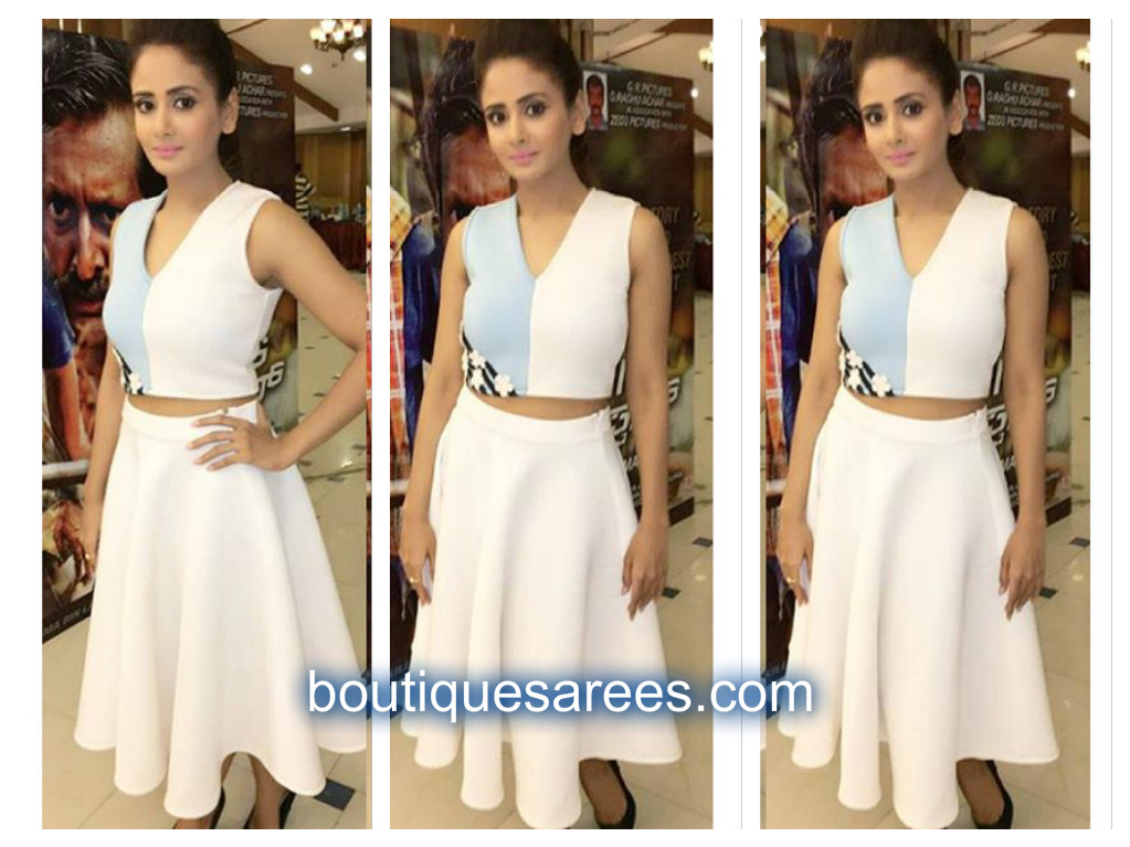 parul yadav in land of august dress