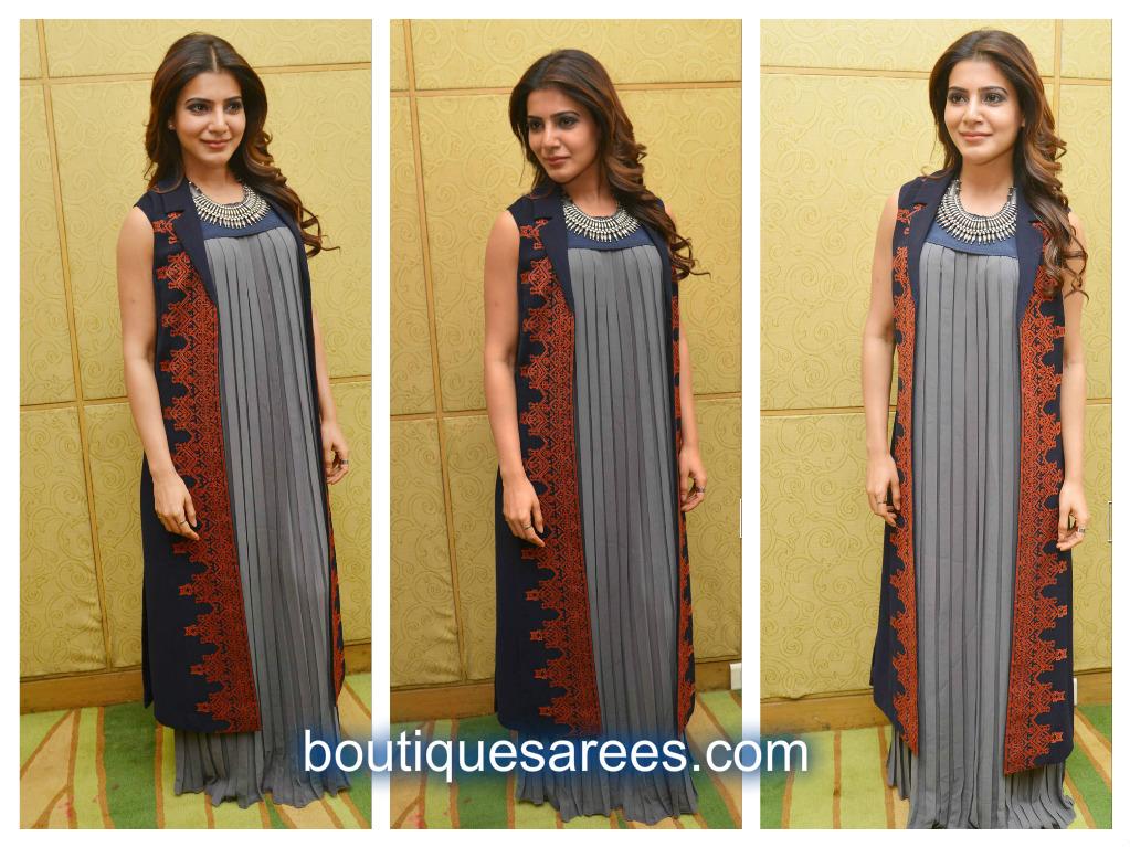 samantha in long dress