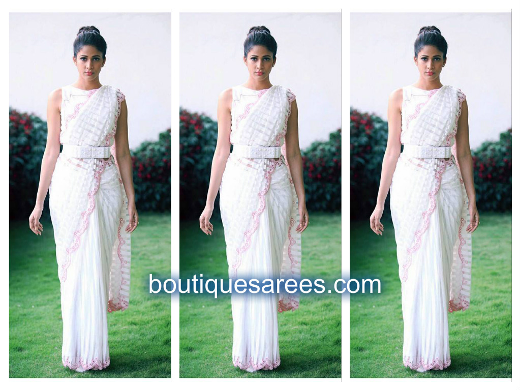 lavanya tripathi in archana rao saree