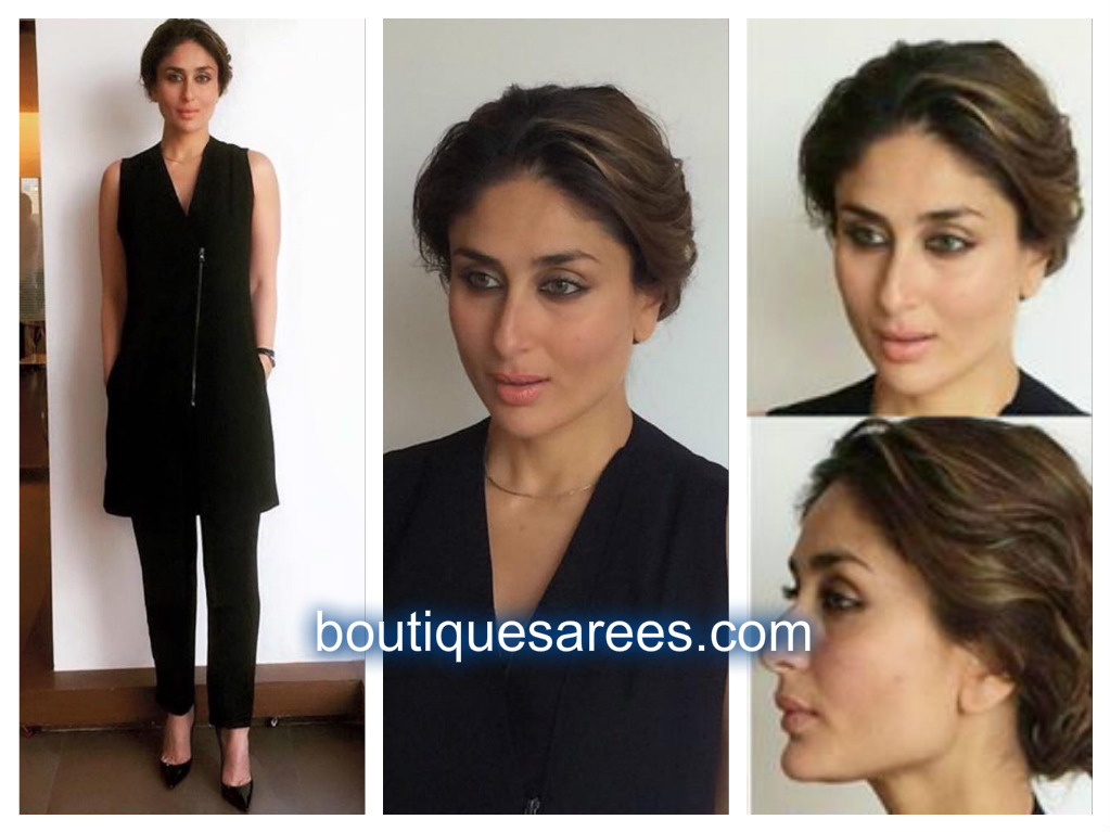 kareena kapoor in black dress