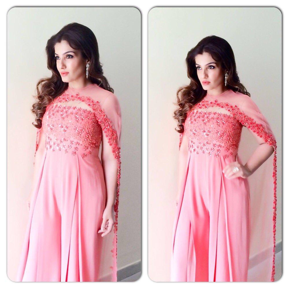 raveena in pink suits