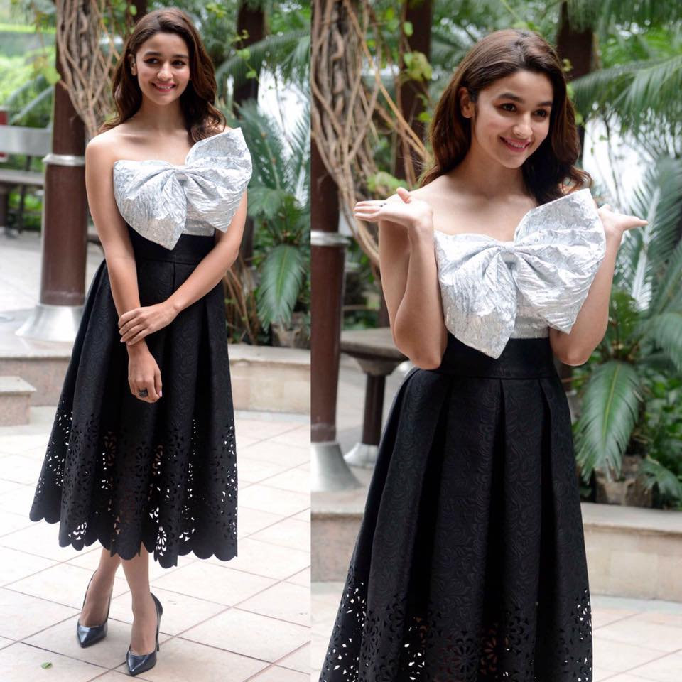 Alia Bhatt in Bambah Boutique