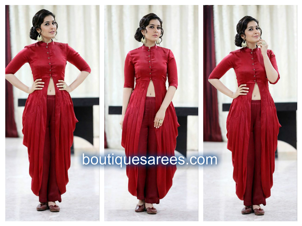 rashi khanna in mint blush