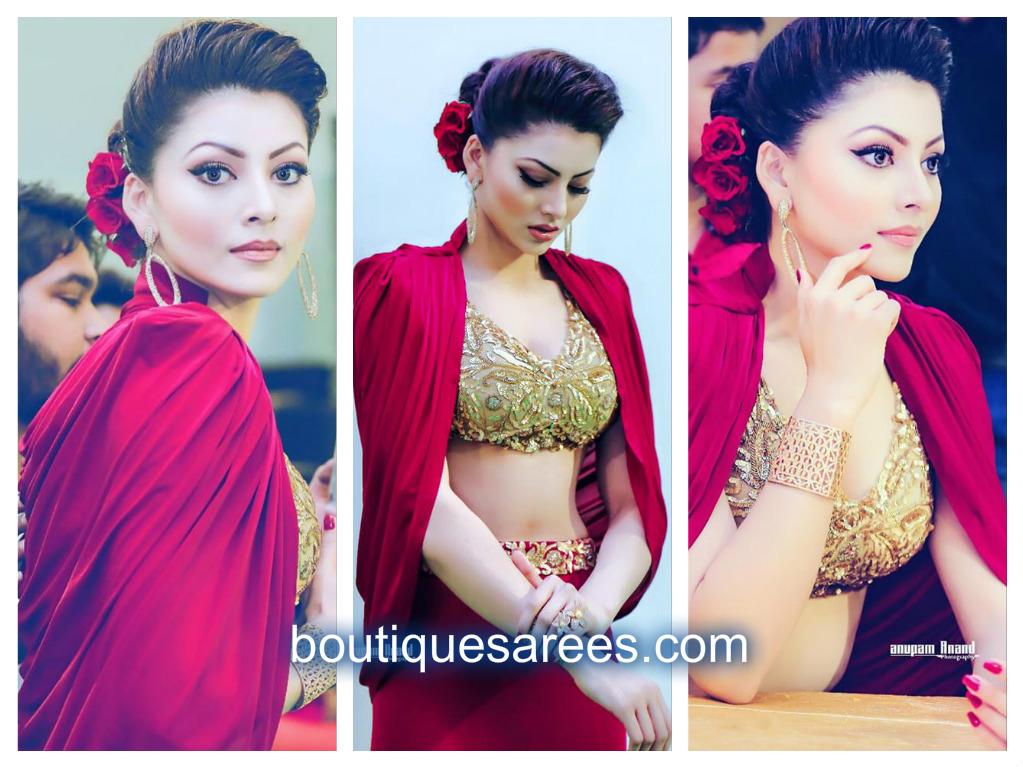 urvashi in red
