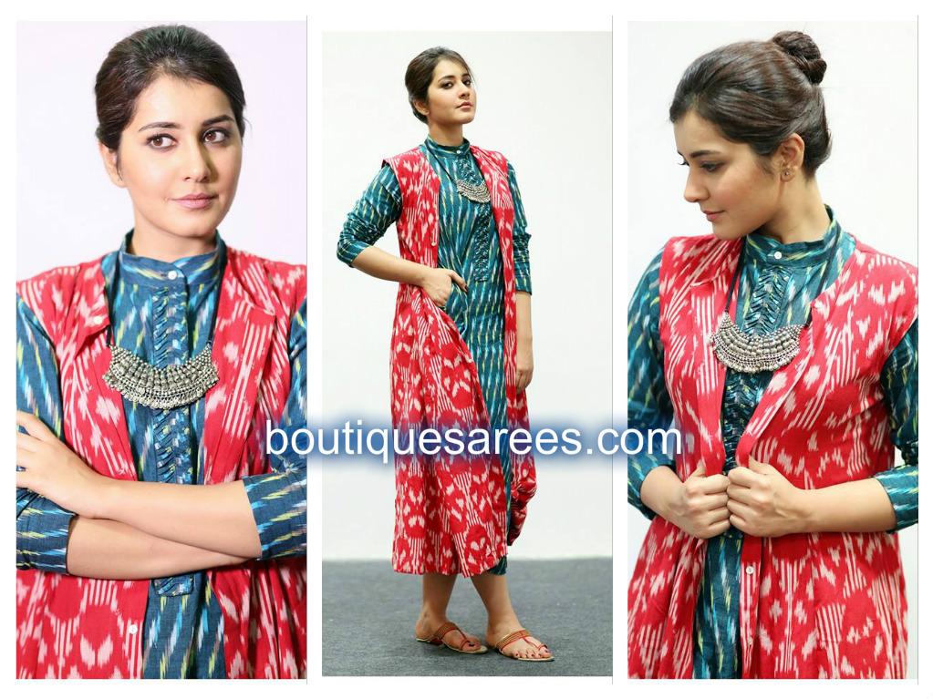 raashi khann in designer dresses