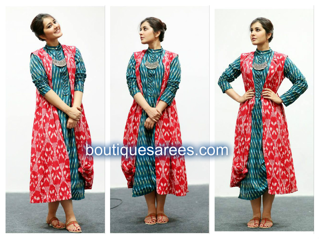 raashi khanna in designer dress